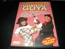 """RARE! DVD """"LE MONDE MAGIQUE DE CHANTAL GOYA - VOLUME 2"""" 14 titres"""