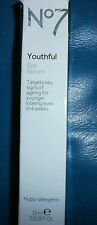 BOOTS No7 Youthful Hypoallergenic Anti-ageing Wrinkle Reducing Eye Serum 15ml BN