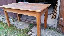 alter kleiner Weichholz  Tisch ca 120 mal 40 cm