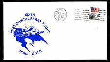 1983 SIXTH POST ORBITAL FERRY FLIGHT - CHALLENGER - EDWARDS, CA (ESP#2738)