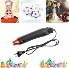 Mini Heat Gun Hot Air Gun Tool Shrink Electric Heating Nozzle 300W US Plug
