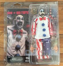 "NECA HOUSE OF 1000 CORPSES CAPTAIN SPAULDING RETRO CLOTHED 8"" FIGURE INSTOCK"