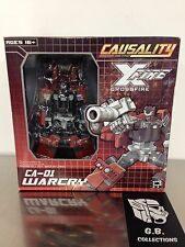 Transformers Fansproject Causality Crossfire Warcry CA-01 100% Complete