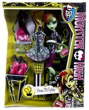 NEW OFFICIAL MONSTER HIGH VENUS MCFLYTRAP I HEART FASHION DOLL SET