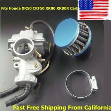 NEW Carburetor W/ Ait Filter Fits Honda XR50 CRF50 XR80 XR80R Carb FREE USPS
