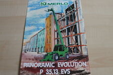 127594) Merlo Panoramic Evolution P 35.13 EVS Prospekt 04/1999