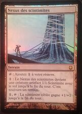 Nexus des Scintimites PREMIUM / FOIL VF - French Blinkmoth Darksteel -  Mtg Exc2