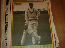 cricket england + yorkshire boycott greig willey A4 from tiger scorcher comic x9