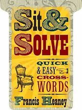 Sit And Solve - Quick And Easy Crosswords (2010) - Used - Trade Paper (Pape
