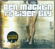 Ben Macklin Feat Tiger Lily - Feel Together 5 Tracks Cd Eccellente