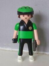 PLAYMOBIL (K2101) POLICE - Homme Policier avec Revolver Officier VTT 3164