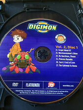 Digimon 1st Season Volume 2 disc 1 Replacement Disc DVD ONLY