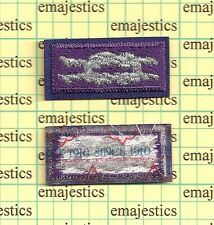 BSA YOUTH RELIGIOUS AWARD SQUARE KNOT PATCH SILVER PURPLE SINCE 1910 MINT