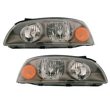 Fits 04-06 Hyundai Elantra Headlight Assembly Driver Passenger Side Pair