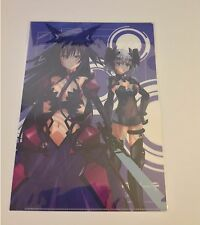 Anime Date A Live II 2 clear file folder Tohka Reversed Ver. & Origami Kurumi