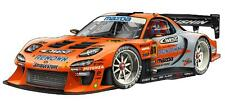 Mazda RX-7 Orange Drifting Cartoon Car Art Garage Wall Decal Sticker Graphic