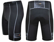 Funkier 10 Panel Active Road Cycling Shorts Black 5XL