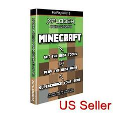 Xploder PS3 SPECIAL MINECRAFT Edition Cheats Games Saves Software New