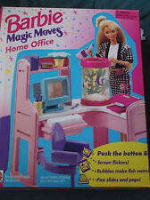 BARBIE MAGIC MOVES HOME OFFICE  #67155    (c) 1994