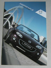 MAZDA MX-5 VENTURE 2012 RANGE CAR BROCHURE. SPECIAL EDITION ROADSTER & SOFT TOP