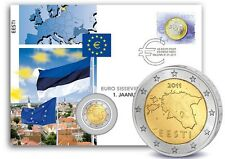 2 Euro Numisbrief Estland - Einführung der Eurowährung 2011 st