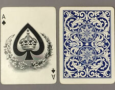 c1910 American Playing Card Company Crown Playing Cards 52/52 Antique Vintage