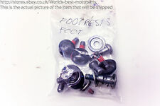 Yamaha XJ6 N (1) Diversion 12' Footrest Bolts Screws Washers