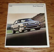 Original 1985 Ford Mustang Sales Brochure 85 LX GT SVO