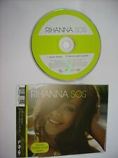 RIHANNA - S.O.S. - CD SINGLE 2006 LIKE NEW - 2 TRACKS