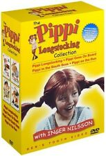 Pippi Longstocking Collection [4 Discs] (2005, REGION 1 DVD New)