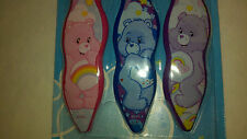 3 Care Bears Toothbrushes Soft  Toothbrush Easy Grip Handles for Kids Brand New