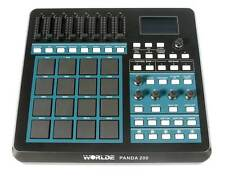 16 Pad MIDI Drum Machine Controller 8 Assignable Faders, Pads, Playback Control