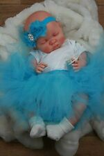 BUTTERFLY BABIES REBORN BABY DOLL FAKE BABY GIRL AQUA TUTU MOLLY