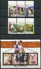 DOMINICA 2008 Hunde Dogs 3897-3906 ** MNH