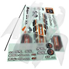 Baja 5b SS CLEAR UNPAINTED BODY & Decals 7560 - HPI 112457 - shell stickers