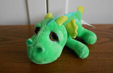 BLAZE THE DRAGON beanie soft toy, plush/comforter RUSS mini Lil Peepers