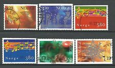˳˳ ҉ ˳˳NO22 Norway Norge Complete sets 1997-02 Different Christmas Music