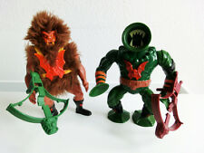 Masters of the Universe Grizzlor + Leech figuras de acción! eh Man motu Vintage