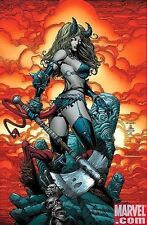 X-INFERNUS #1 Cover POSTER ~ DAVID FINCH  Marvel Comics  X-Men Magik  2008 NEW
