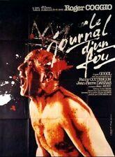 """Affiche 120 x 160 du film """"LE JOURNAL D'UN FOU"""" de et avec Roger Coggio ."""
