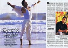 COUPURE DE PRESSE CLIPPING 1994 Sylvester Stallone (4 pages)