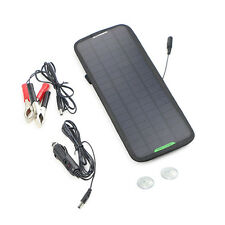 4.5W 12V Car Boat Yacht ATV RV Solar Panel Trickle Battery Charger Power Supply