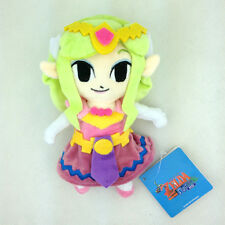 The Legend of Zelda Wind Waker Princess Nintendo Stuffed Animal Plush Toy New 7""