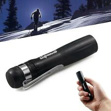 800 Lumen Portable LED Flashlight Torch Lamp Light Outdoor AA Battery Black DC