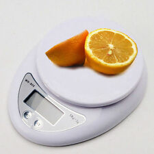 New 5Kg x 1g Digital Kitchen Scale Diet Food Compact LCD Kitchen Scale E1