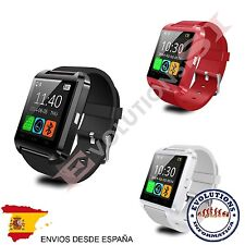 RELOJ INTELIGENTE ROJO SMART WATCH WHATSAPP EN EL MOVIL SMARTWATCH ROJO
