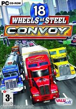 NEW! 18 Wheels of Steel Convoy for PC SEALED NEW