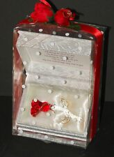 For my Wife Wedding Anniversary creative personalised gift crystal red rose CG4