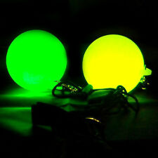 Slow Fade LED POI by Oddballs - Bright Glow, Soft & Durable Circus Juggling