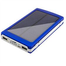 Esterno 80000mAh doppia USB Solare Caricabatterie Banca Di Potere Per Cellulare